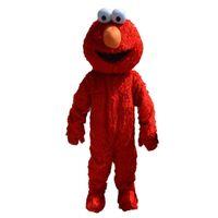 traje de tamanho venda por atacado-2018 venda direta da fábrica elmo mascot costume adulto tamanho elmo mascot costume frete grátis