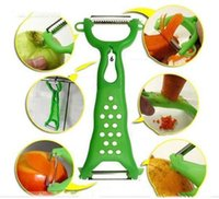 Wholesale Cheap Vegetable Peeler - New 2014 Fashion Vegetable Fruit Peelers Cheap Stainless Steel Vegetable Zesters Useful Fruit Vegetable Tools