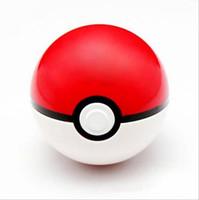 figura de pokeball venda por atacado-4 Pçs / set 7 CM Trainer Pokeball Com Aleatório Pikachu Figuras de Ação Bola Crianças Brinquedos Super Master Ball