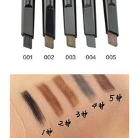 Wholesale Eyebrow Paint - 1 Pcs Automatic Eyebrow Pencil Makeup 5 Style Paint for Eyebrows Cosmetics Eye Brow Liner Beauty Make Up Tools