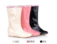 Wholesale Sexy Shoes For Ladies - 2014 new fashion female ladies sexy women rain boots, rain boots for women and woman shoes