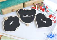 Wholesale Blackboard Memo Clip - Wholesale-Mini chalkboard with clip for DIY writing ! Wholesale Free shipping ! ( Mini cute blackboard , small clipboard for daily memo)