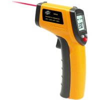 Wholesale Laser Thermometers Wholesale - Nice free shipping, Non-Contact LCD IR Laser Infrared Digital Temperature Thermometer Gun GM320 with retail pacakge #222000