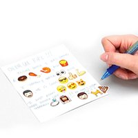 Wholesale Iphone Sticker Designs - Kids Stickers New Stickers Children's toys Stickers Decorative Stickers toys stickers Children gift Instagram,Facebook,Twitter iPhone Emoji