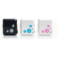 Wholesale Gps Sms Sos - GPS GSM SMS Gprs Tracker Rf-v16 Real-time Tracking Mini Size Sos Communicator Gps Tracker Gprs Tracker