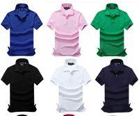 Wholesale usa coatings - 2018 new high quality Summer Hot Sale Polo Shirt USA American Brand Polos Men Short Sleeve Sport Polo Man Coat Drop Free Shipping