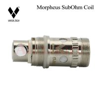 bobina del tanque de vapor rda al por mayor-Núcleo reemplazable de Vapor de la tecnología Morpheus original ohmio 0.1Ohm 0.2Ohm 0.5Ohm 1Ohm cabezal de repuesto para el tanque de morfeo rda DHL