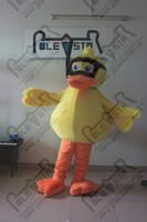 fazer trajes de cabeça de mascote venda por atacado-alta qualidade EVA cabeça pato bebê mascote trajes mão fazer pato macio para o bebê mostrar