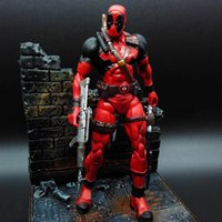 """Wholesale Marvel Select Wholesale - 2016 New Deadpool Marvel Select 7"""" X-MAN Action Figure Collectors Edition Toys Best Gifts for Children Fast shipping DHL"""