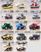 bloques de montaje de plástico al por mayor-Bloques de construcción ensamblados Juguetes Ensamblaje Inteligencia plástica Pequeños juguetes Venta al por mayor Puzzle Kindergarten Regalo de cumpleaños para niños