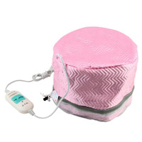 Wholesale Hair Thermal - 1Pcs Electric Hair Thermal Treatment Beauty Steamer SPA Nourishing Hair Care Cap Free Shipping