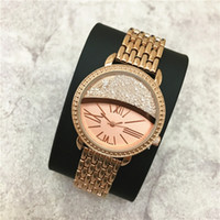 Wholesale Item Stone - Hot Item Fashion lady watches women watch brand Rolling Stones Stainless Steel Bracelet Top Brand female clock Luxury Gift for gilrs Elegant