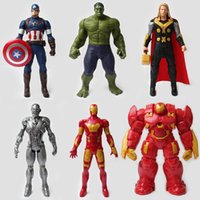 The Avengers League of Legends Hero Alliance Figura Personal Person Persones Roles Modelo Toy doll Hulkbuster cartoon children friends Gifts