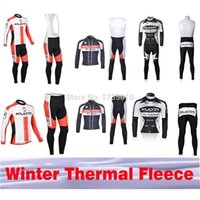 Wholesale Kuota Long - Kuota cycling jersey winter thermal fleece long sleeves new jerseyss kit ciclismo bicicletas ropa ciclismo maillot tight mtb
