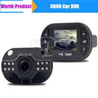 Wholesale Dvr Coche - C600 Mini Car Auto DVR Digital Camera Video Recorder Carro Coche Dash Cam Dashboard Camcorders car dvr 111181C