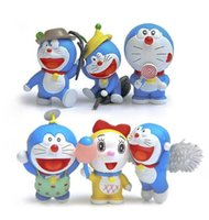 Wholesale Fly Figure - hot sale Doraemon Tree branches Flying version toys Doraemon Collectible Action Figure doll toys 6 style
