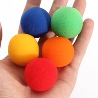 Wholesale 5pcs set color Close Up Magic Street Classical Comedy Trick Soft Sponge Balls cm Medium size