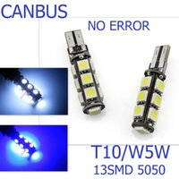 T10 blue coupe - T10 SMD T10 smd led Canbus Error Free Car Lights W5W SMD LIGHT BULBS NO OBC ERROR White light