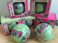 7.5cm LOL SURPRISE Doll Series 2 Dress Up Jouets Filles POUPE Amovible Ballon d'Emballage LiL Soeurs Figurines Jouets