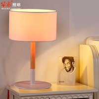 Wholesale Minimalist Style Table Lamp - Brief table lamp desk light Minimalist Style living room simpletable lamps pastoralism E27 LED bedroom rustic lighting solid wood table lamp