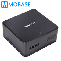 Wholesale mini pc ssd - Wholesale-Tronsmart Ara BJ19 Intel J1900 NUC Mini PC Windows 8.1 Linux Computer HDMI WiFi LAN 2.5 HDD SSD Headphone MIC USB3.0 DIY Mini PC
