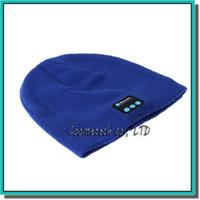 Wholesale Cute Chinese Phones - Wireless Bluetooth Headset Hat Warm Beanie Cute Smart Cap Headphone Headset Speaker Mic For Ipad Cell Phone