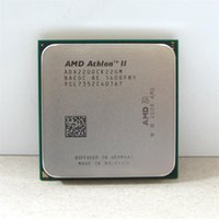 Wholesale Athlon Ii Am2 - Free shipping AMD CPU Athlon II X2 220 CPU 2.8GHz Socket AM2+ AM3 938PIN dual-core 65w processor scrattered pieces