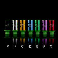 вип-кончик оптовых-Самые новые регулируемые наконечники капель для воздуха EGO Vaporizer 510 Мундштук для RDA RBA Atomizers Mods E Cig VIP Wide Bore Drip Tips
