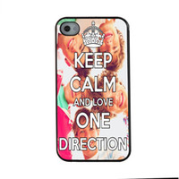 Mantenere SHAK misura fashion design One Direction calma e l'amore per iPhone 6 caso 4.7