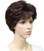 ingrosso belli disegni dei capelli-Cool2day Womens belle parrucche corte belle di stile di disegno unico JF011089