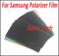 Wholesale Film Filter - LCD Polarizer Film Polarization for Galaxy S3 S4 S5 S6 A5 Note5 Note4 Note3 LCD Screen Filter Polaroid Polarized Light Film sheet