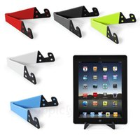 Wholesale Holder Aluminium Ipad - Universal Foldable Mobile Cell Phone Stand Holder for Smartphone & Tablet PC