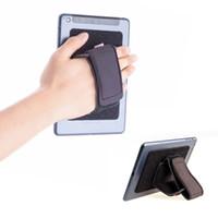 klebstoffflecken groihandel-TFY gepolsterte Handschlaufe plus Hakenschlaufe Befestigungsband Klebepflaster - DIY abnehmbare Handschlaufe für Smartphone, Tablet PC und mehr