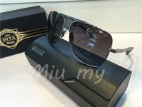 Wholesale Dita Glasses - Dita Sunglasses Men Matador Square Dita Eyewear Vintage Fashion Sun Glasses Oculos De Sol Masculino Dita Matador Glasses