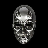 Wholesale Masquerade Fans - masquerade masks for movie fans [Color] Shi direct Harry Potter Death Eater Lucius Malfoy · resin mask mask wholesale
