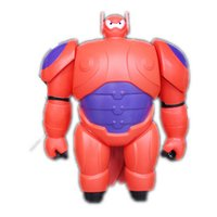 Wholesale Orange Baby Doll - 2014 New Marvel Movie Big Hero 6 PVC Action Figure Big Hero 6 Baymax Robot Toy Doll with Retail Box for Baby Gift