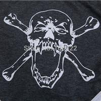 Wholesale Cheap Black Cotton Briefs - FG1509 Cheap New #6475 Soft Mens Skull Pattern Briefs Cotton Underwear Underpants 8 Colors S M L XL