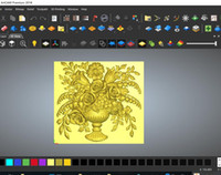 Wholesale Support Relief - Latest Version ArtCAM Premium 2018 CNC Wooden Carving Software For Win64 Bit Support For Multi-Language With 3D Relief Clipart