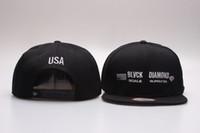 Wholesale Black Scale Hats - Diamond snapbacks, BLVCK SCALE + Diamonds Supply Co. Snap back Baseball caps classic black hip hop street snapback hats YP_4063