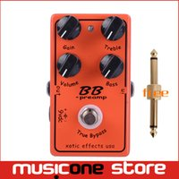Wholesale Electric Boost - Free Shipping BB Guitar Effect Pedal Overdrive And Boost And True Typass Free shipping MU0369