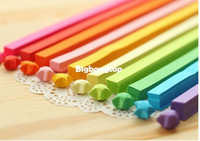 origami paper art - 1509 Handcraft Origami Lucky Star Paper Strips Paper Origami Quilling Paper Decoration colors