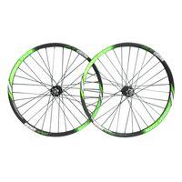 29er tekerlek seti karbon toptan satış-29er neasty marka yüksek kalite karbon fiber dağ bisikleti jantlar yeşil / siyah renk bitirmek D791-792 hub wheelsetler