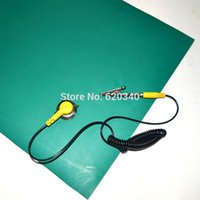 Wholesale Antistatic Repair - Free Shipping 600mm*260mm Anti-Static Mat,Antistatic Blanket,ESD Mat For Repair Work+Ground Wire+ESD Wrist order<$18no track