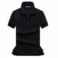 Wholesale Horses Coats - 2018 new high quality Summer Hot Sale small horse Polo Shirt Brand Polos Men Short Sleeve Sport Polo Man Coat Drop Free Shipping