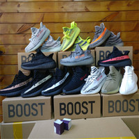 Wholesale Copper Rubber - With Box Semi Frozen Yellow Beluga 2.0 Boost 350 v2 Running Shoes Zebra Orange Stripes Copper Men Women Sport Shoes Boost 350
