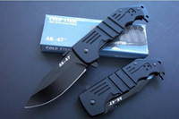 Wholesale Lock Blade Pocket Knives - Cold Steel Knife AK47 Outdoor Tactical Survival Hunting Knives Aircraft Aluminum Handle Liner Lock Pocket Knife 1pcs freeshipping