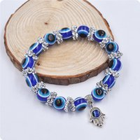 Wholesale Plastic Thanksgiving Turkey - New Turkey Evil Eye Charms Bracelet Resins, plastics Charms Beads 2015 New models jewelry DHL free