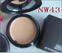 Wholesale Nw 15 - Wholesale-New makeup Fix Pressed Powder plus Compact Foundation 15g(1 pcs lot)1pcs NW 15 20 30 35 40 42 43 45 50 55