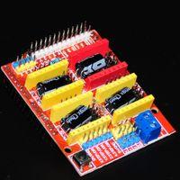 Wholesale Board Cnc Kit - 3D Printer CNC V3 Shield Expansion Boards For DIY Kit A4988 Driver CNC V3 Engraver Electronica Module Printing Accessory