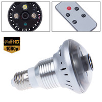 Wholesale E27 Bulb CCTV Home Security DVR Camera Digital Video Recorder Night Vision x720P HD by epacket ZM00104